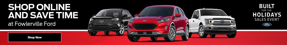 Buy Online and Save Time at Fowlerville Ford