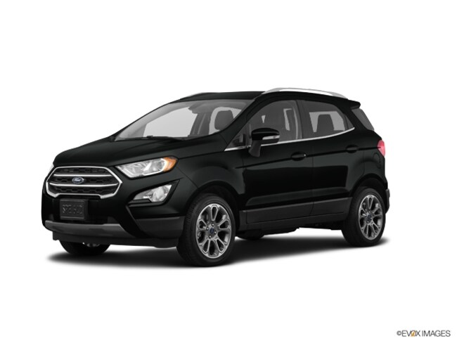 New 2019 Ford EcoSport Titanium Crossover near Howell