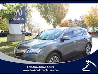 Pre-Owned 2014 Acura MDX 3.5L Technology Package (A6) SUV Ann Arbor, MI