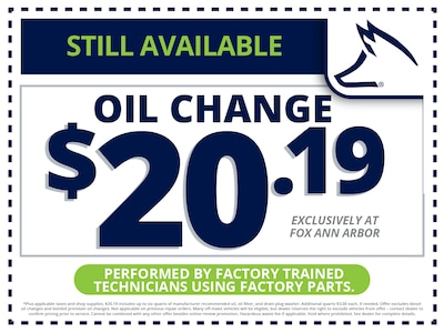 Oil Change – Still Available