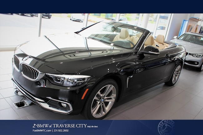 New 2019 BMW 4 Series 430i Xdrive Convertible in Traverse City, MI
