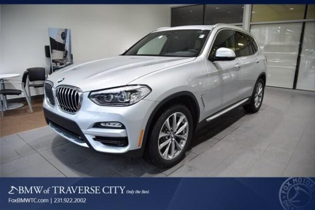 New 2019 BMW X3 Xdrive30i SAV in Traverse City, MI