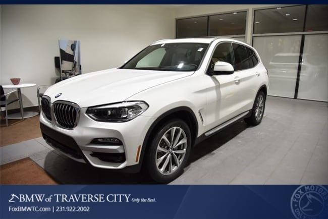 New 2019 BMW X3 Xdrive30i SAV in Traverse City, MI