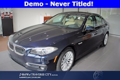 Used 2016 BMW 528i xDrive Sedan in Traverse City, MI