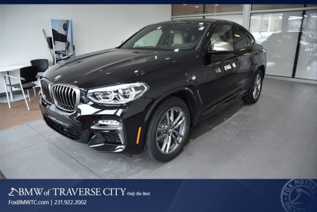 New 2019 BMW X4 M40i Sports Activity Coupe in Traverse City, MI