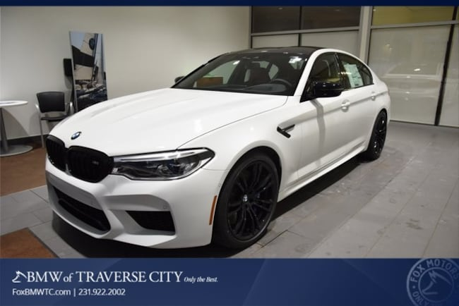 New 2019 BMW M5 Competition Sedan in Traverse City, MI