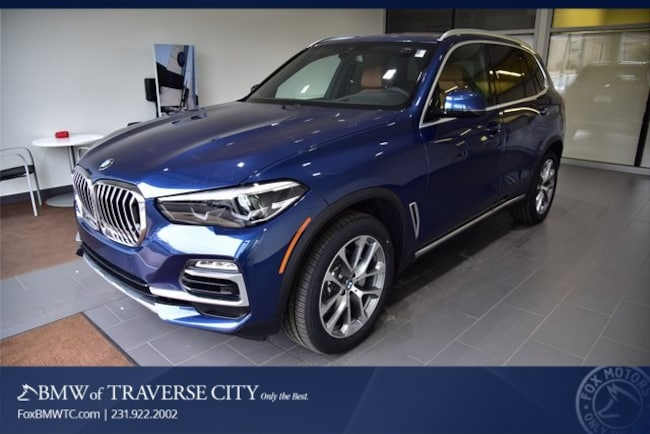 New 2019 BMW X5 xDrive40i SAV in Traverse City, MI