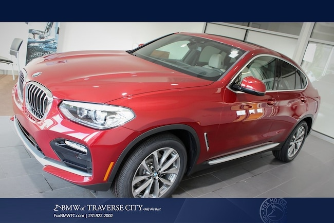 New 2019 BMW X4 Xdrive30i Sports Activity Coupe in Traverse City, MI