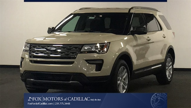New 2018 Ford Explorer XLT SUV For Sale/Lease Cadillac, MI