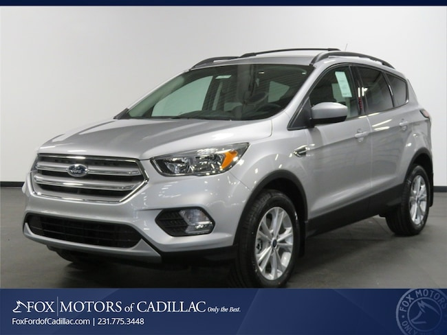 New 2018 Ford Escape SE SUV For Sale/Lease Cadillac, MI