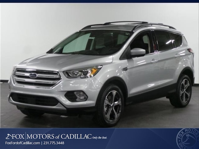 New 2018 Ford Escape SEL SUV For Sale/Lease Cadillac, MI
