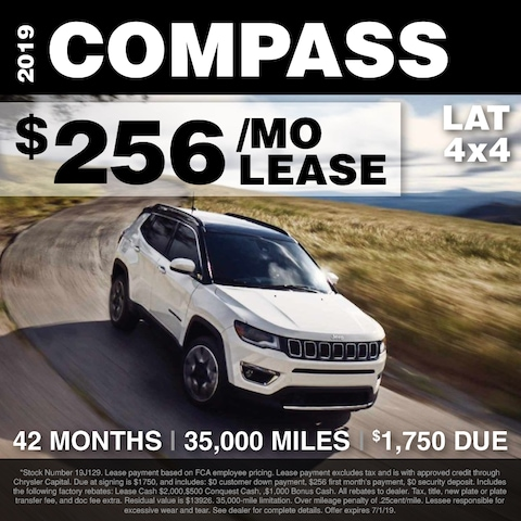 Fox Lease Special: $256/mo for 36 months, $1,750 Total Due at Signing