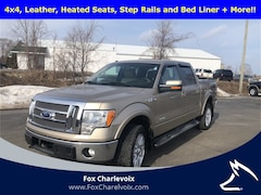 Used 2012 Ford F-150 Lariat 3.5 Liter Ecoboost Turbocharged Truck 1FTFW1ET0CFA39819 in Charlevoix, MI