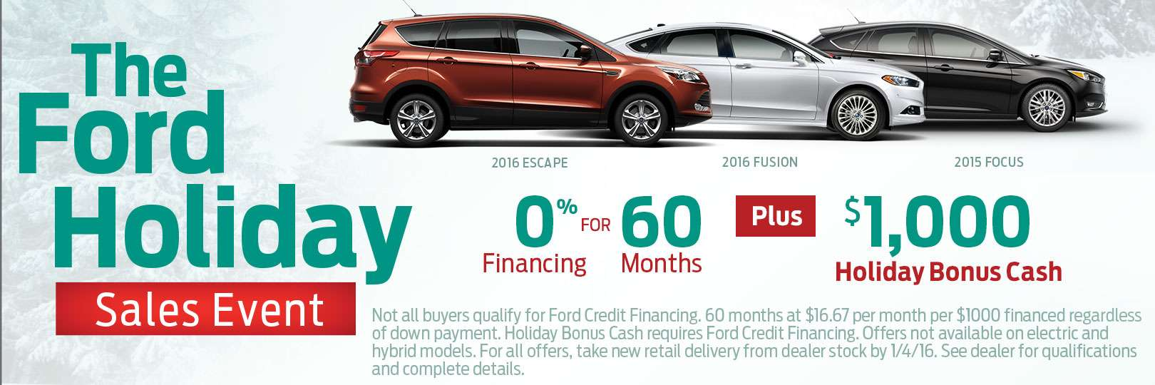 Ford Holiday Sales Event Chicago Illinois | Fox Ford Lincoln