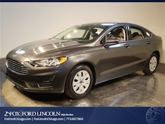 New 2019 Ford Fusion S Sedan for sale in Chicago