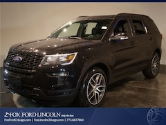 New 2019 Ford Explorer Sport SUV for sale in Chicago