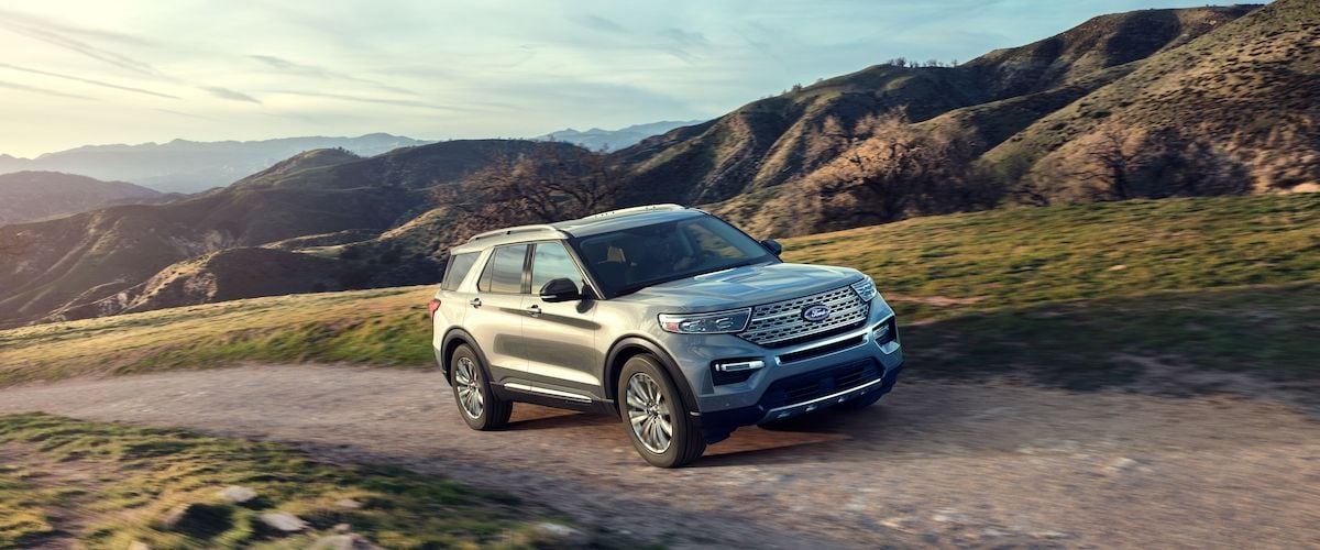 2020 Ford Explorer in Grand Rapids