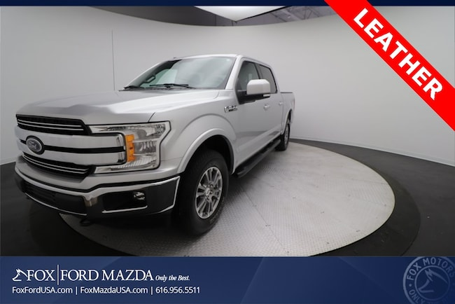 Certified Pre-Owned 2018 Ford F-150 Lariat Truck SuperCrew Cab in Grand Rapids