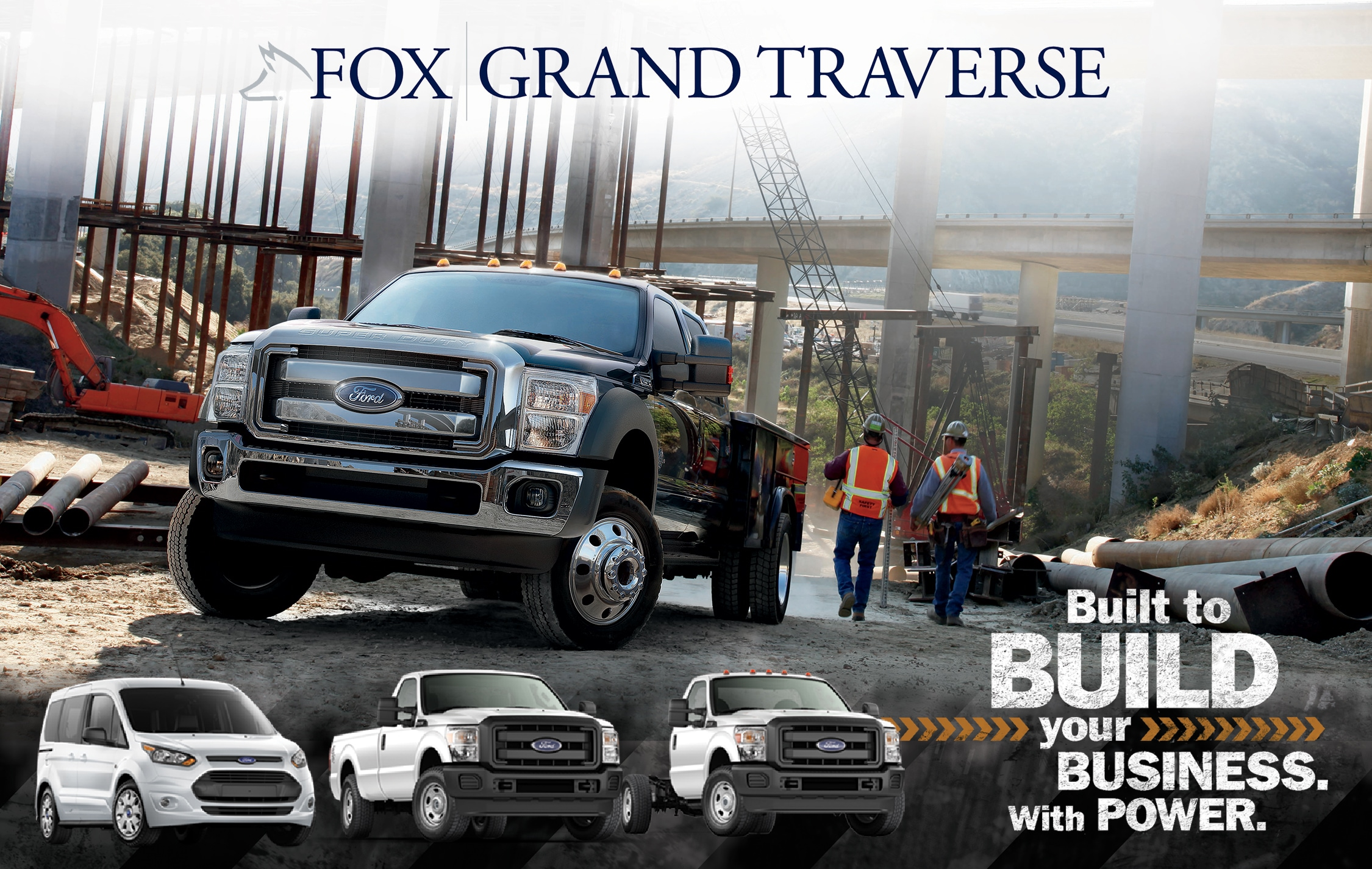 commercial vehicles for sale in traverse city mi fox grand traverse ford. Black Bedroom Furniture Sets. Home Design Ideas