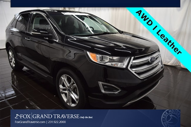 2000 Ford Edge >> Used 2018 Ford Edge For Sale At Fox Grand Traverse Lincoln Vin 2fmpk4k87jbc01750