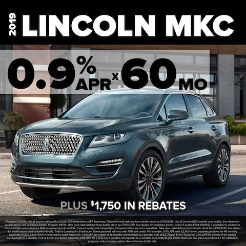 MKC 0.9% for 60 months