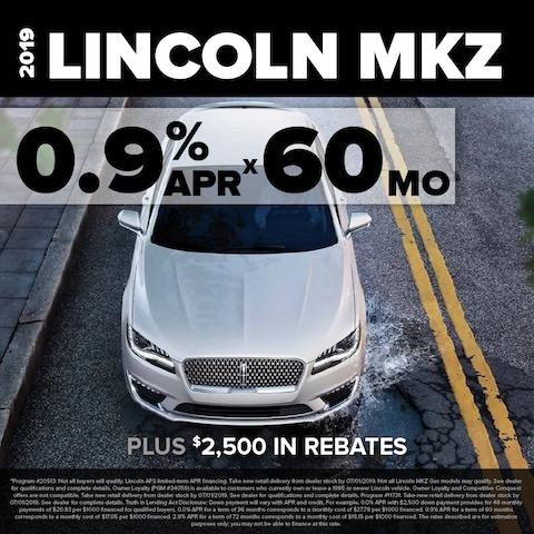MKZ 0.9% for 60 months
