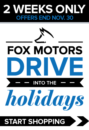 Drive Into The Holidays Sales Event