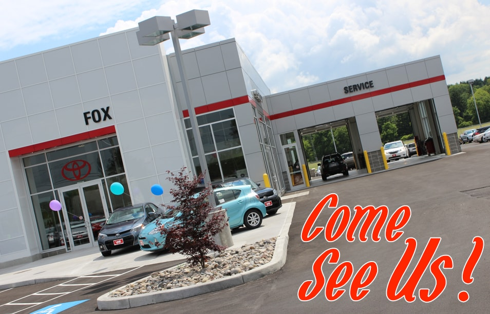 Fox Toyota in Auburn, NY, just 20 minutes from Syracuse, treats the needs of each individual customer with paramount concern. We know that you have high ...
