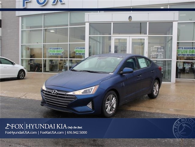 New 2019 Hyundai Elantra SEL Sedan in Grand Rapids, MI