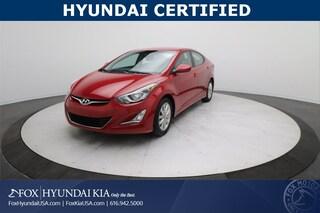 2016 Hyundai Elantra SE Sedan KMHDH4AE4GU545032