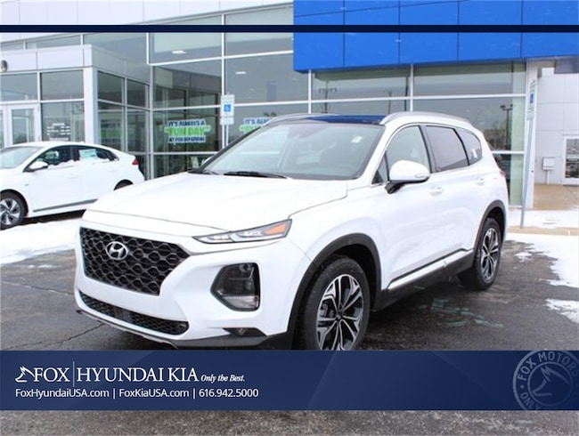 New 2019 Hyundai Santa Fe Limited 2.0T SUV in Grand Rapids, MI