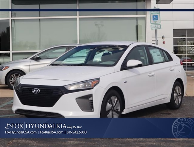 New 2019 Hyundai Ioniq Hybrid Blue Hatchback in Grand Rapids, MI