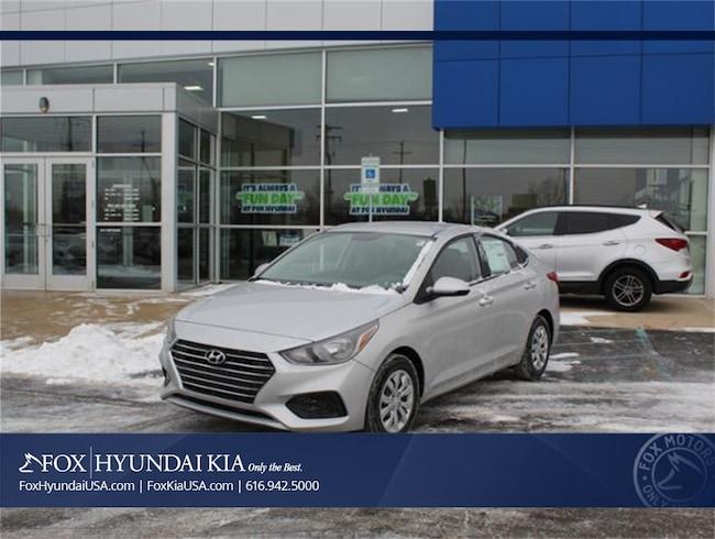 New 2019 Hyundai Accent SE Sedan in Grand Rapids, MI