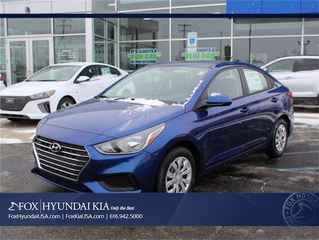New 2019 Hyundai Accent SE Sedan in Grand Rapids, MI
