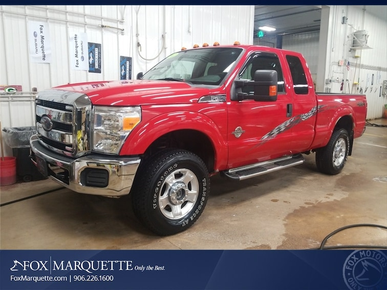 Used 2012 Ford F-250SD XLT Truck in Marquette
