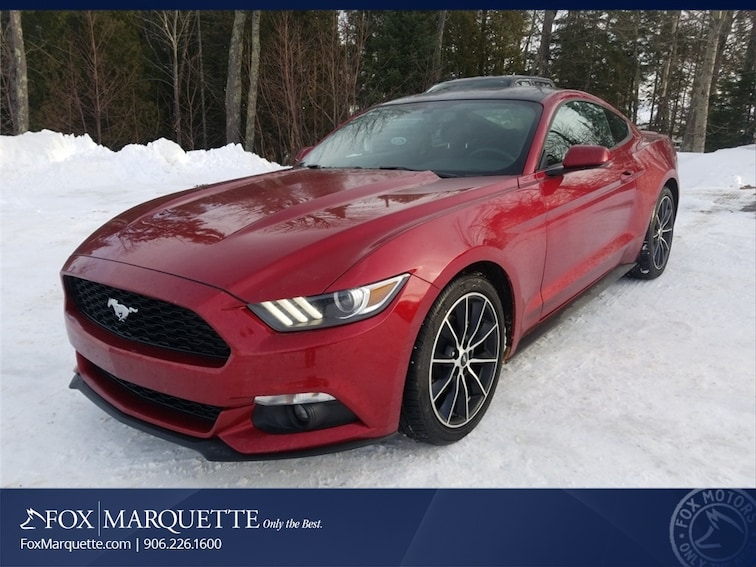 Used 2017 Ford Mustang Ecoboost Coupe in Marquette
