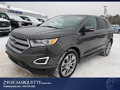New 2018 Ford Edge Titanium SUV For Sale in Marquette, MI