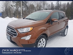 New 2019 Ford EcoSport SE SUV MAJ6S3GL7KC252793 For Sale in Marquette, MI