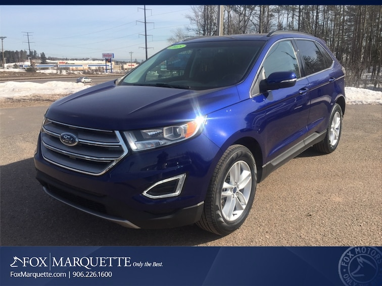 Used 2015 Ford Edge SEL SUV in Marquette