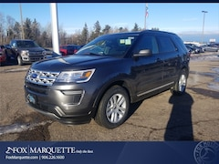 New 2019 Ford Explorer XLT SUV 1FM5K8D88KGA50181 For Sale in Marquette, MI