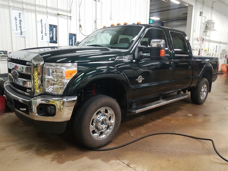 Used 2015 Ford F-250SD Lariat Truck in Marquette