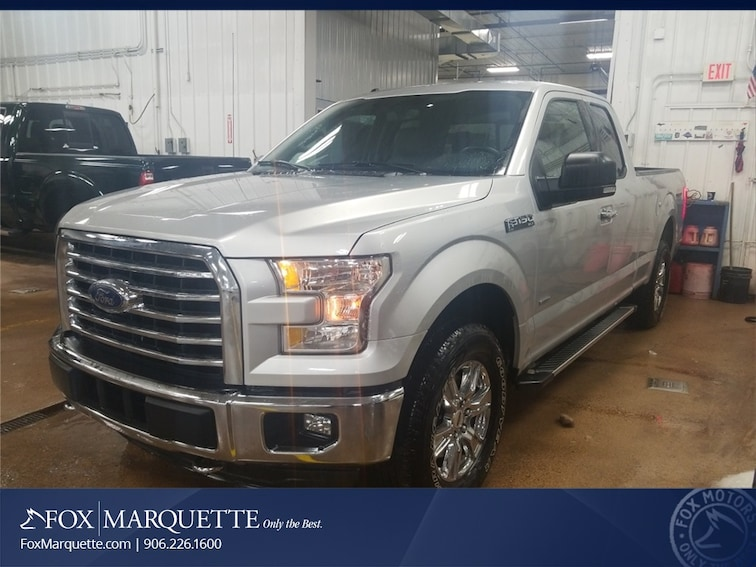Certified Pre-Owned 2015 Ford F-150 XLT Truck n Marquette