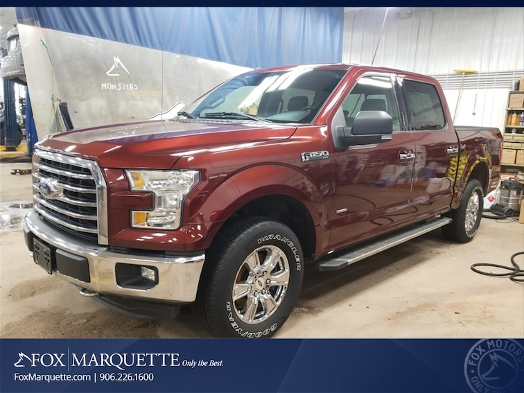 Certified Pre-Owned 2016 Ford F-150 XLT Truck n Marquette