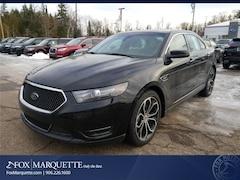New 2018 Ford Taurus SHO Sedan 1FAHP2KTXJG137799 For Sale in Marquette, MI