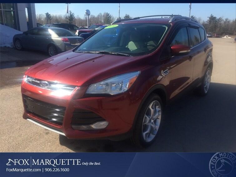 Used 2014 Ford Escape Titanium SUV in Marquette