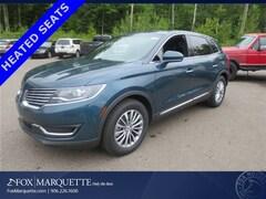 Used 2016 Lincoln MKX Select SUV 2LMTJ6KR6GBL74257 for Sale in Marquette, MI