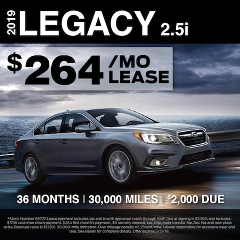 Fox Lease Special: Lease for $264/mo for 36 months, $2,000 Total Due at Signing