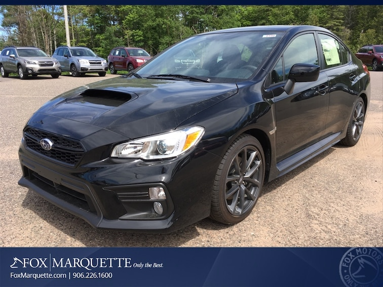 New 2018 Subaru WRX Premium Sedan in Marquette, MI