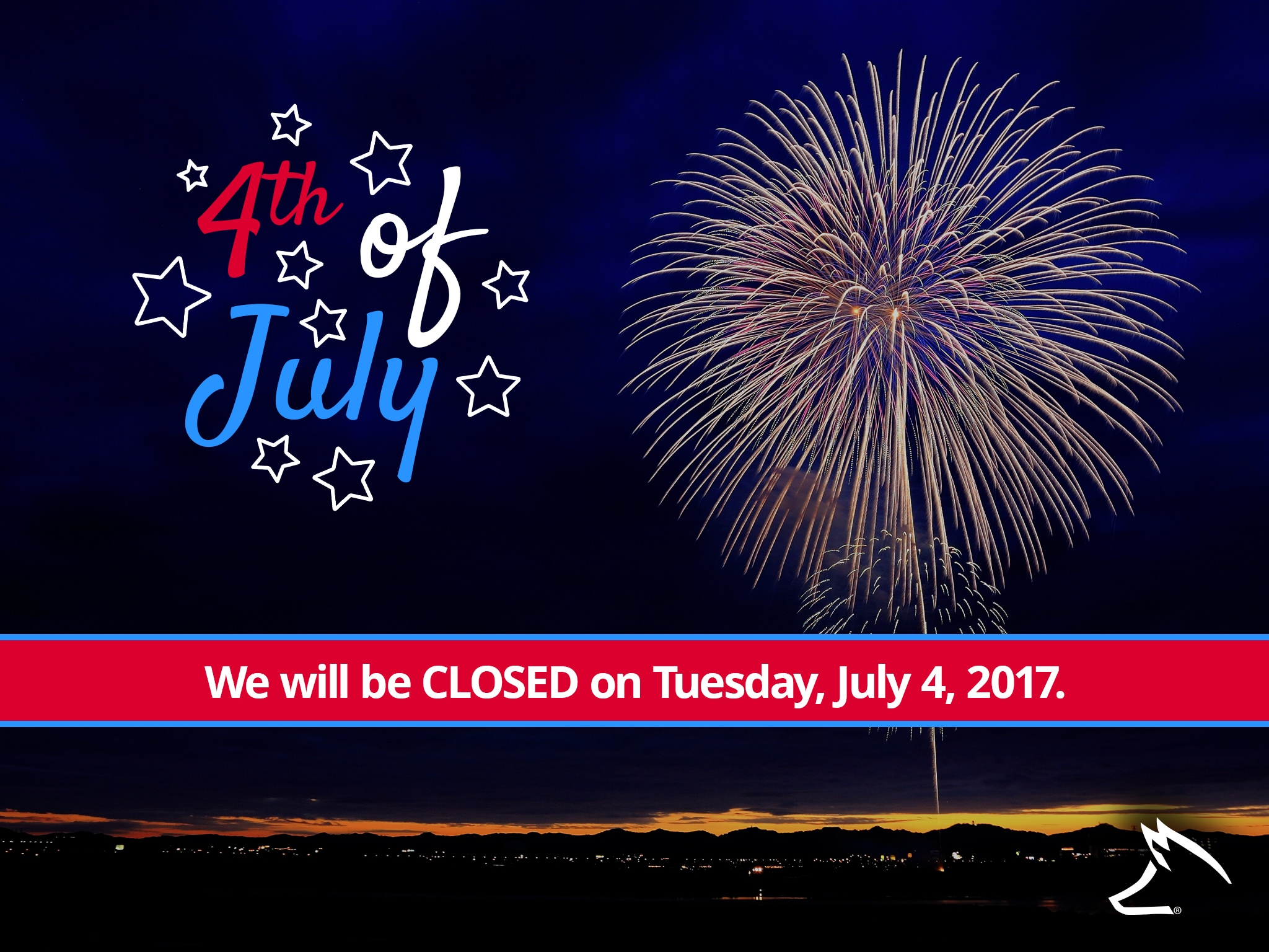Fox charlevoix we will be closed on july 4th for Fox motors charlevoix service