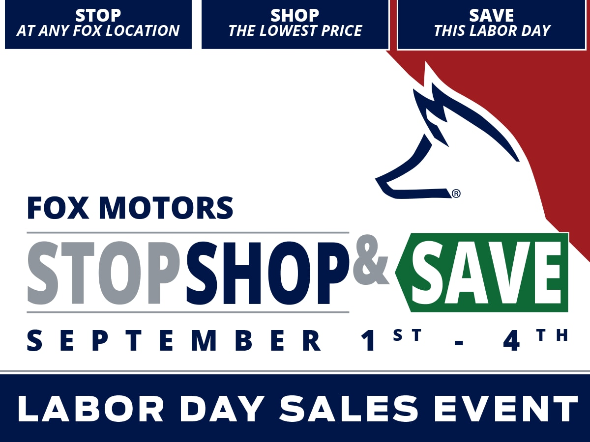 Fox Ford Lincoln | Stop, Shop & Save Sales Event